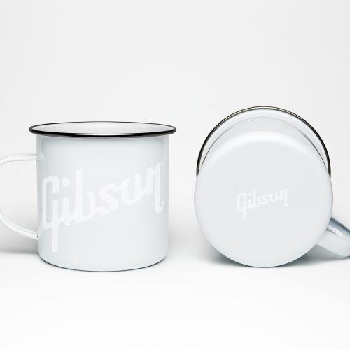 Gibson Enamel Mug